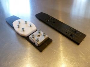 TTS dynafit-telemark shift plate mock up