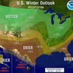 NOAA prediction for Winter 12/13.