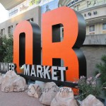 Main entrance to the Summer Market Outdoor Retailer show in Salt Lake City.