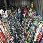 Over 500 pair of good-condition, used skis at Start Haus over Labor Day weekend.