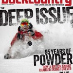 The cover to Backcountry Mag's 87th issue, Vol. 18.