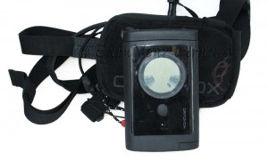 Ortovox 3+ avalanche transceiver with carrying case