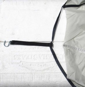 Lightweight is only good if it can also withstand moderate abuse. Kelty's Carport corners need more muscle.