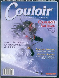 Couloir Vol. XIII-3, Dec. 2000