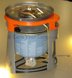 Joule inverts the canister and preheats the fuel for more efficient output.