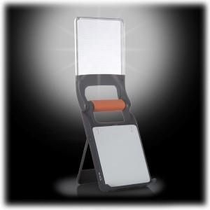 Energizer's Folding Lantern provides wide, even light over short distances.