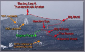 Guide to Greylock's notable ski trails.
