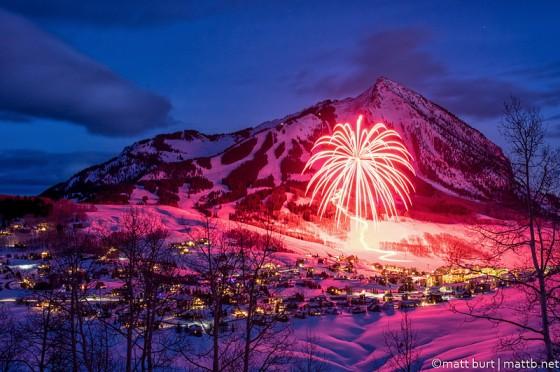 Happy New Year. Photo by Matt Burt