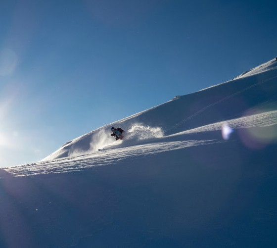 Coastal. Huge amounts of snow and sunny all the time. woot! woot! photo: Alex