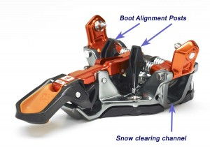 Boot posts make aligning your boot correctly much easier and faster. Almost step-in.