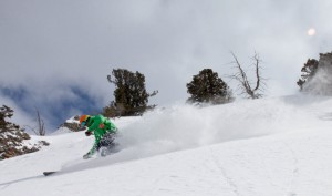 Still finding fresh 4 days after a storm at PowMow. photo courtesy BCM.