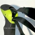 Aergon® grip is ultra comfortable, with easily adjusted wrist straps.