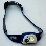 Petzl's Tikka R+ with reactive light.