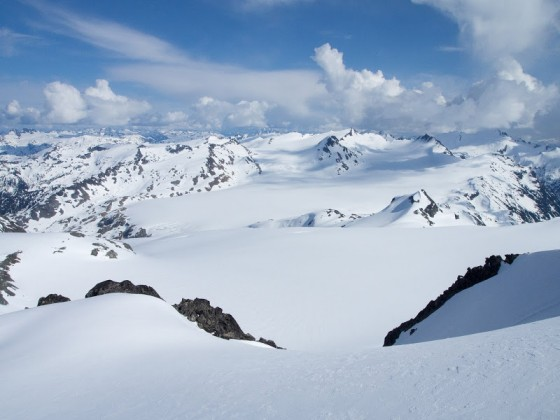 Big view of the Misty Icefield.  Photo by Alex