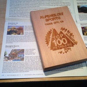 Alpenglow Sports gets recognized.