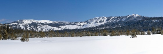 This panorama may make it look flat, but Sugar Bowl offers a LOT of terrain options, and that's just what's inside the boundaries.