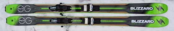 Zero G 95 from Blizzard - 125-95-105 at 1300g/ski.