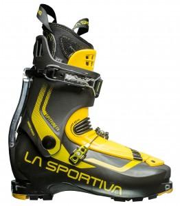 La Sportiva's Spitfire, light yet it packs some punch.