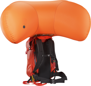Arc'teryx Voltair. Battery powered avalanche airbag pack.