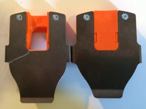 First gen flex plates were prone to cracking. Notice the bend at the back wider in the revised version.