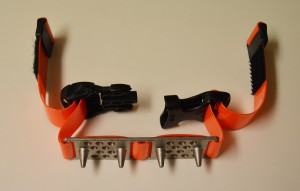 Skeats™ - strap-on ski crampons.